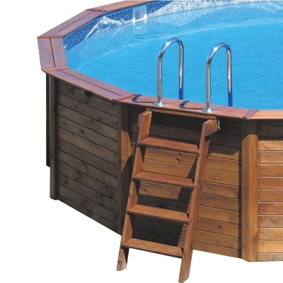 piscinas en oferta de madera